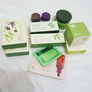 Innisfree face treatment pack