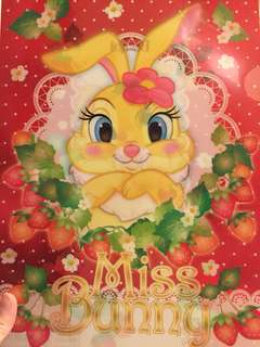 迪士尼 Bambi-Thumper Miss Bunny, Marie, Lady file $10@1