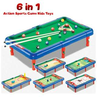 FREE POS Ready Stock Action Sports Game Kids Basketball Bowling Football Toys Kids