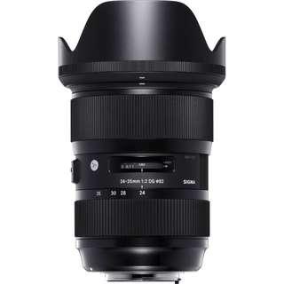 Sigma 24-35 f2 Nikon
