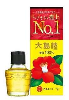 Oshima Tsubaki] Camellia Hair Oil