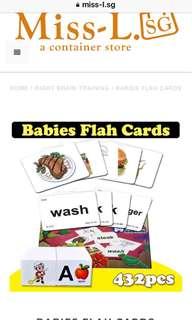👌🏾 BABIES FLAH CARDS