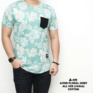 Aster floral shirt