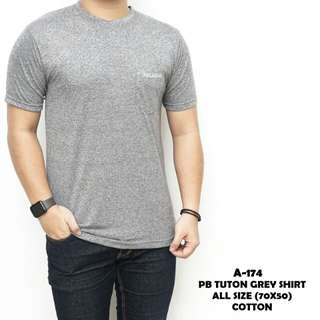 Pb tuton grey shirt