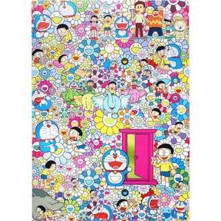 Doraemon Exhibition Tokyo 2017 A4 Folder [lego molly fuchico bearbrick tomica bandai disney sanrio doraemon]