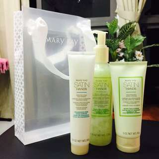 Mary Kay White Tea and Citrus Satin Hands Pampering Set