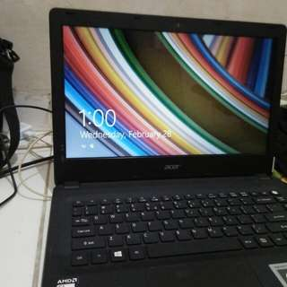 Laptop Aspire ES 14 ES1-420-39J6