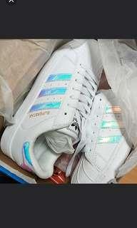 Adidas Holographic Hologram Shoes