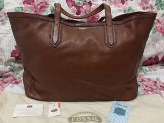 Fossil Sydney Tote (Brown)