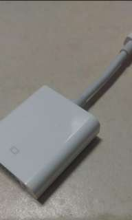 Apple mac vga adapter (original thunderbolt)