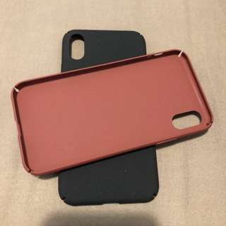 Iphone x ultra light case 輕薄保護殻 兩色