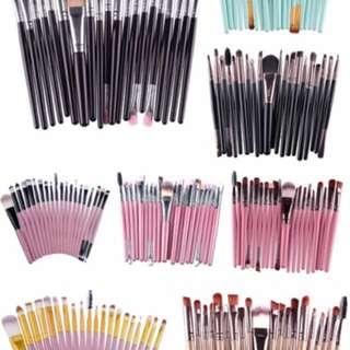 20pcs Make up Brush
