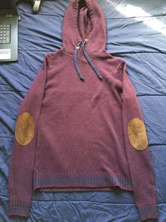 Bluenotes Elbow Patch Hoodie (XS/S)