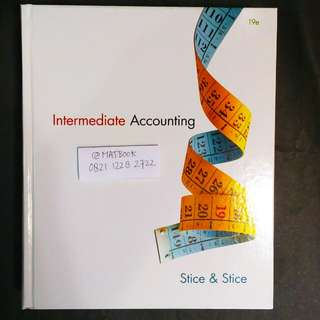 INTERMEDIATE ACCOUNTING 19ED