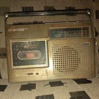 Radio Tape Jadul JVC Nivico #jualbarangjadul