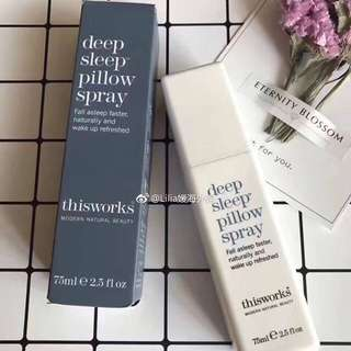 this works- deep sleep pillow spray 5ml