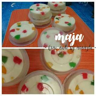 Sweets made to order(maja, camote delight,jelly flan)