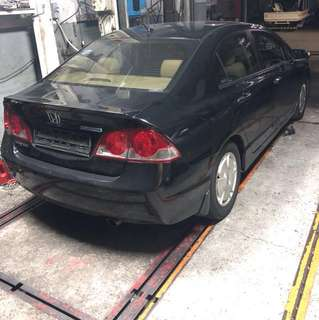 Honda Civic parts for sale