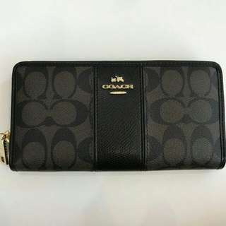 Original Coach Long Wallet