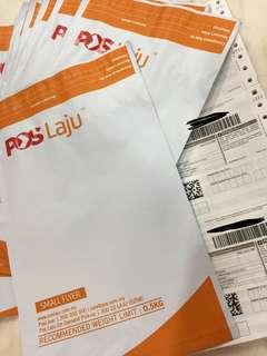 (READ DESC) Small Poslaju Flyer Pack