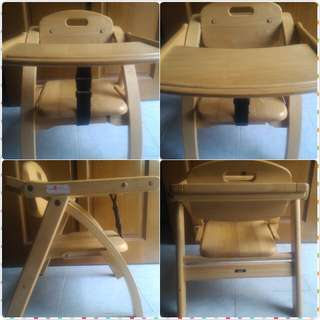 FOLDABLE WOODEN IKEA CHAIR