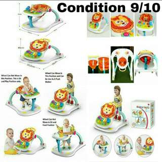 4 in 1 Multifunctional Baby Walker