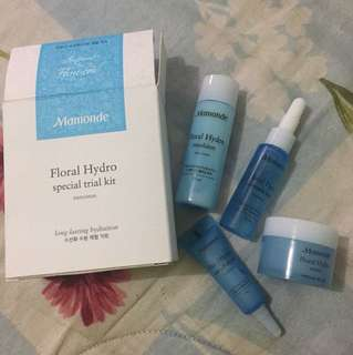 Repriced Brand New Mamonde Floral Hydro Kit