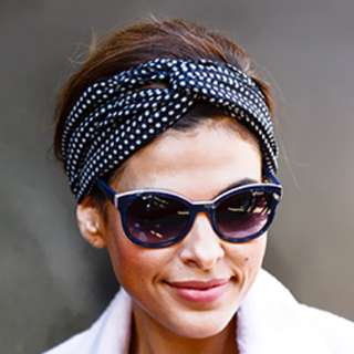 Channel your inner Jackie'o look with the ultimate headscarf...
