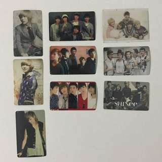 SHINee ezlink card sticker