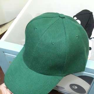 素色鴨舌帽
