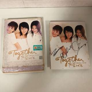S.H.E Together (Best Collection) CD & VCD