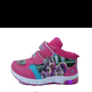 sepatu led my little pony