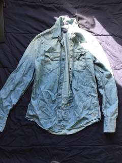 American Eagle Denim Shirt