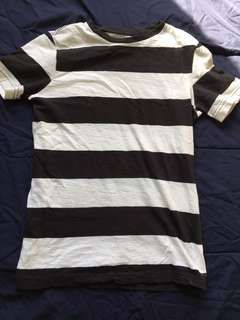 H&M Striped Tee (XS)
