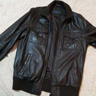 Jaket Leather Zara