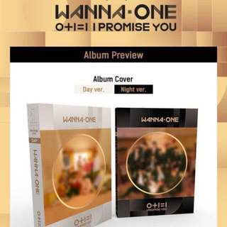 [PREORDER] (Both!)WANNAONE I Promise You