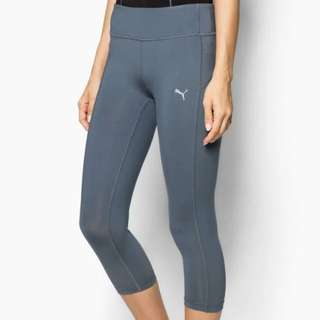 #Feb50 NEW with Tag: Puma Grey Workout Capri (L)