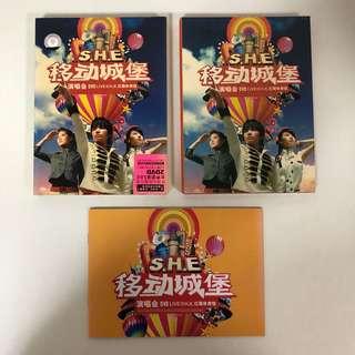 2006 S.H.E Live @ H.K. DVD (2 discs)