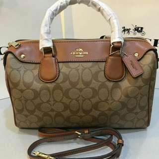 Original Coach Mini Bennett Handbag