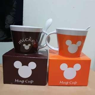 Mickey 馬克杯連小匙羹