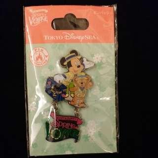 迪士尼襟章pin