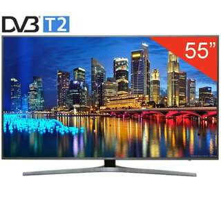 "Samsung 55"" UA55KU6400 Smart 4K LED TV. Latest model"