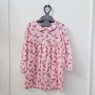 Dress butterfly mothercare