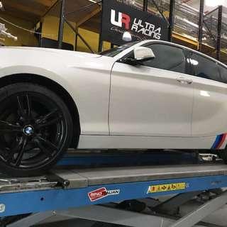 BMW 116d original body kit (yr2017)