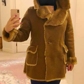 nice warm fur coat ( shell)
