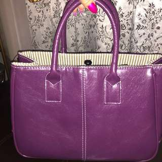 nice purple color bag
