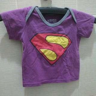 Kaos Superman ungu