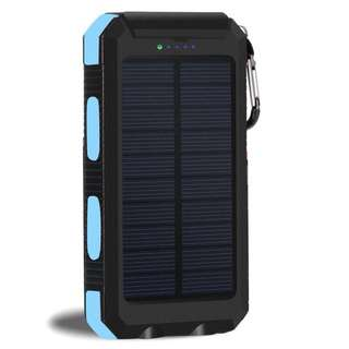 40000mAh waterproof solar powerbank
