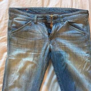 DIESEL jeans size 29 low rise. Bootcut.