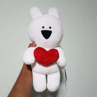 Extremely Rabbit Hearts Plushie